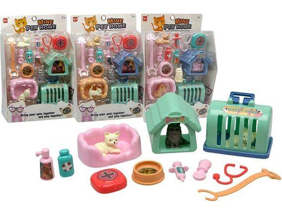 Набор с домашними животными и аксессуарами 200638248 - приобрести в ИГРАЙ-ОПТ - магазин игрушек по оптовым ценам