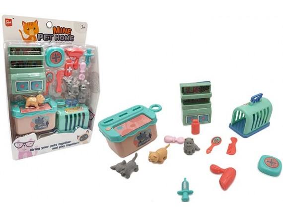 Игровой набор Кухня с домашними животными 200638250 - приобрести в ИГРАЙ-ОПТ - магазин игрушек по оптовым ценам
