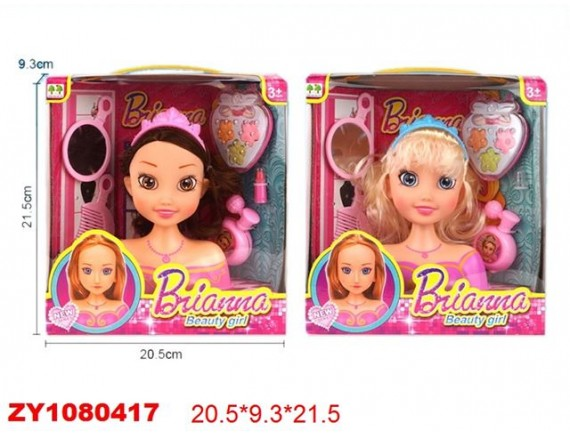 Игровой набор Стилист Brianna Beauty Girl с аксессуарами 200641193