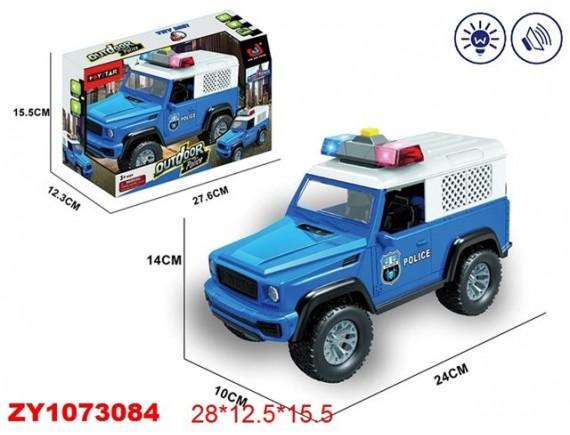 """Машинка инерционная """"Полиция"""" на батарейках 200644522"""