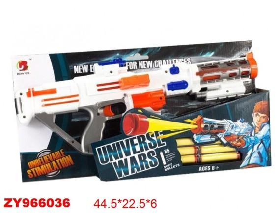 """Игрушка """"Пистолет"""" с мягкими пулями 200645677"""