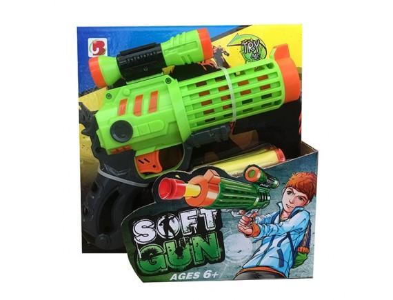 """Игрушка """"Пистолет"""" с мягкими пулями 200645678"""