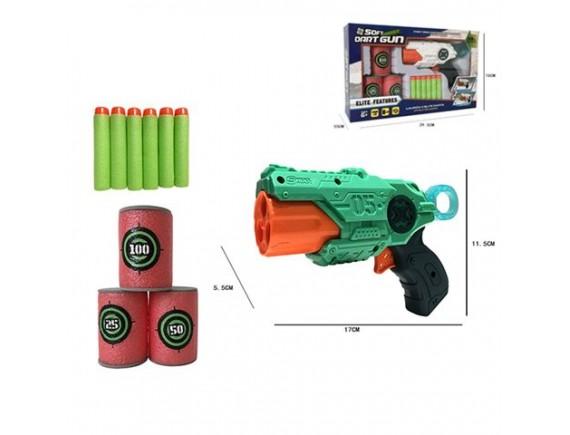 Детское оружие Soft Dart Gun с мягкими пулями и мишенью 200648082