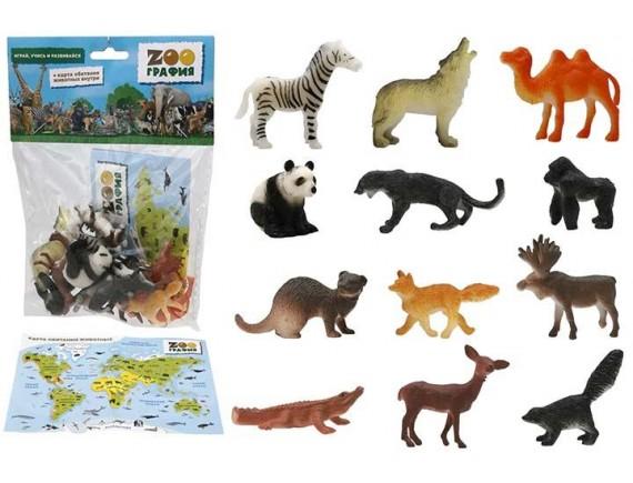 """Игровой набор """"Животные"""" Zooграфия 200661448"""