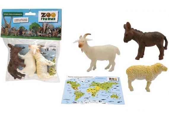 """Игровой набор """"Животные"""" Zooграфия 200661450"""