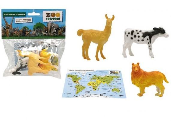 """Игровой набор """"Животные"""" Zooграфия 200661460"""