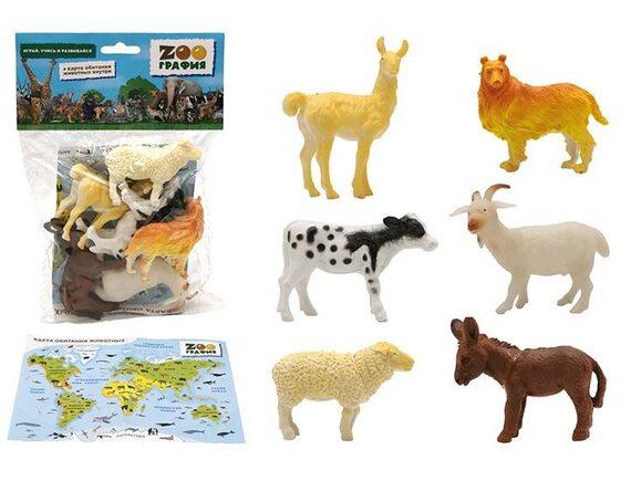 """Игровой набор """"Домашние животные"""" Zooграфия 200661525"""
