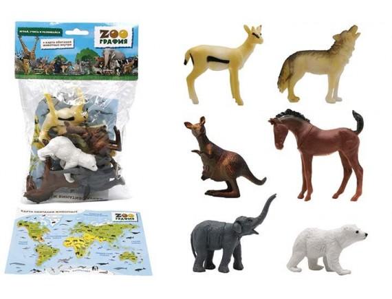 """Игровой набор """"Животные"""" Zooграфия 200661533"""