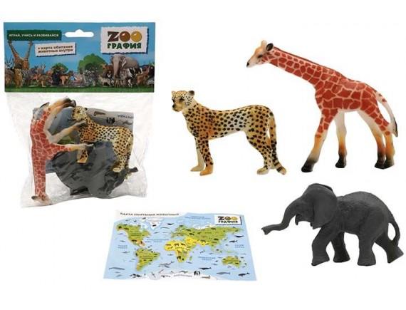 """Игровой набор """"Животные"""" Zooграфия 200661539"""
