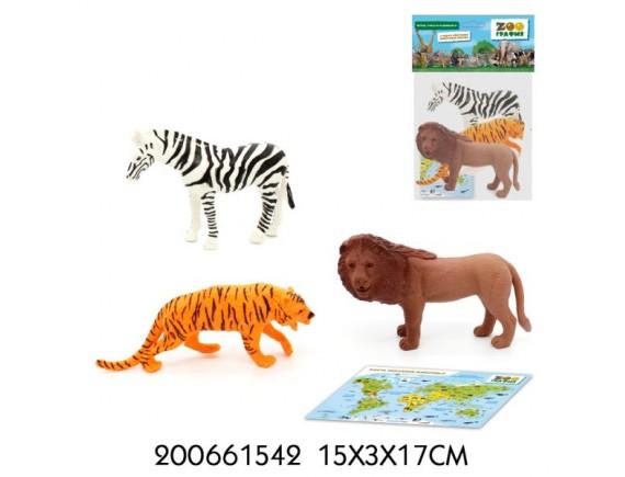 """Игровой набор """"Животные"""" Zooграфия 200661542"""
