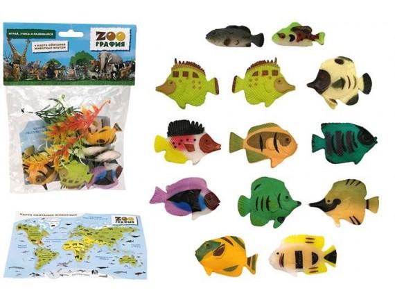 """Игровой набор """"Океанариум"""" Zooграфия 200661546"""