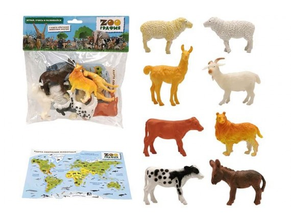 """Игровой набор """"Животные"""" Zooграфия 200661672"""