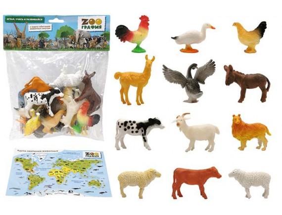 """Игровой набор """"Животные"""" Zooграфия 200661678"""