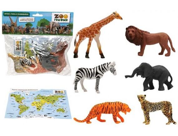 """Игровой набор """"Животные"""" Zooграфия 200661688"""