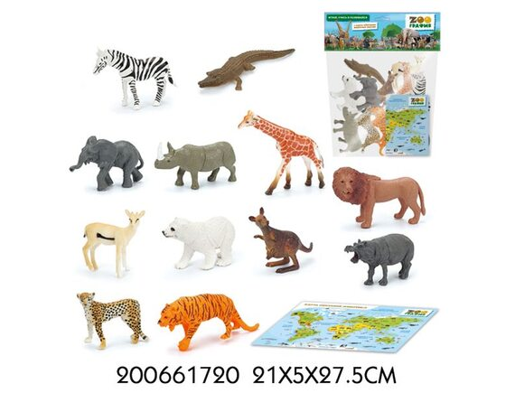 """Игровой набор """"Животные"""" Zooграфия 200661720"""