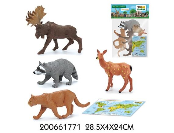 """Игровой набор """"Животные"""" Zooграфия 200661771"""
