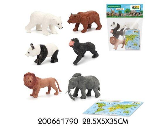 """Игровой набор """"Животные"""" Zooграфия 200661790"""