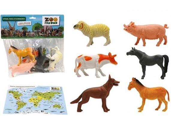 """Игровой набор """"Животные"""" Zooграфия 200661823"""