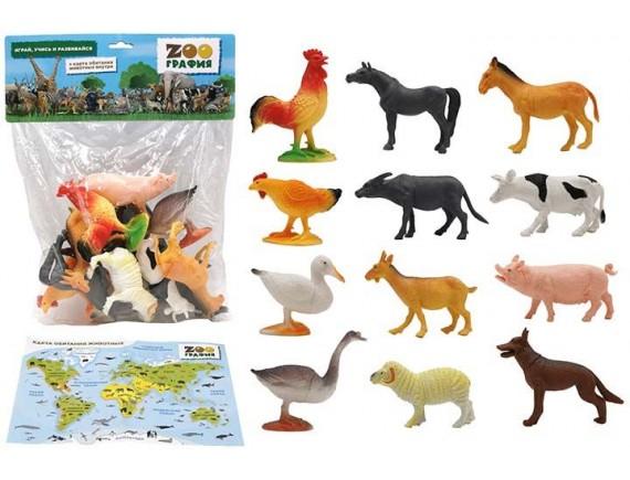 """Игровой набор """"Животные"""" Zooграфия 200661827"""