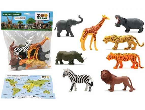 """Игровой набор """"Животные"""" Zooграфия 200662196"""