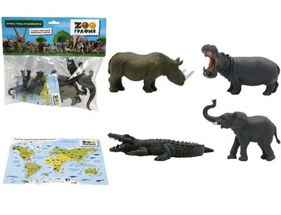 """Игровой набор """"Животные"""" Zooграфия 200662221"""