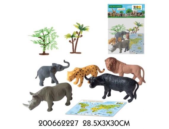 """Игровой набор """"Животные"""" Zooграфия 200662227"""