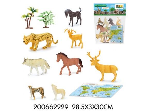 """Игровой набор """"Животные"""" Zooграфия 200662229"""