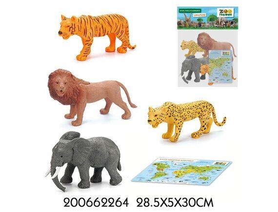 """Игровой набор """"Животные"""" Zooграфия 200662264"""