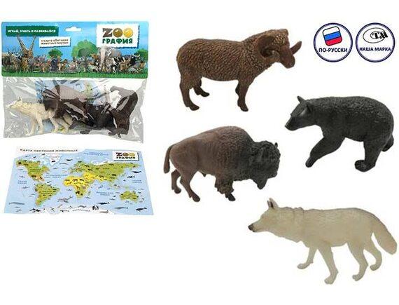 """Игровой набор """"Животные"""" Zooграфия 200664521"""