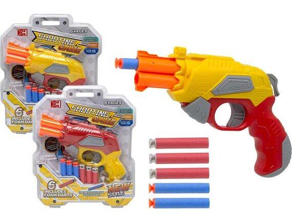 Игровое оружие Shooting Game с мягкими пулями на блистере 200666058