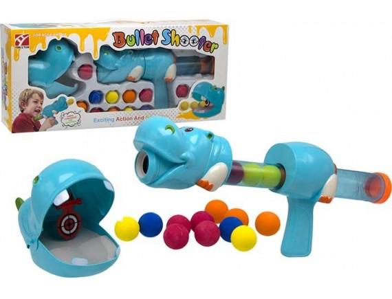 Детское помповое ружьё 200678239 - приобрести в ИГРАЙ-ОПТ - магазин игрушек по оптовым ценам