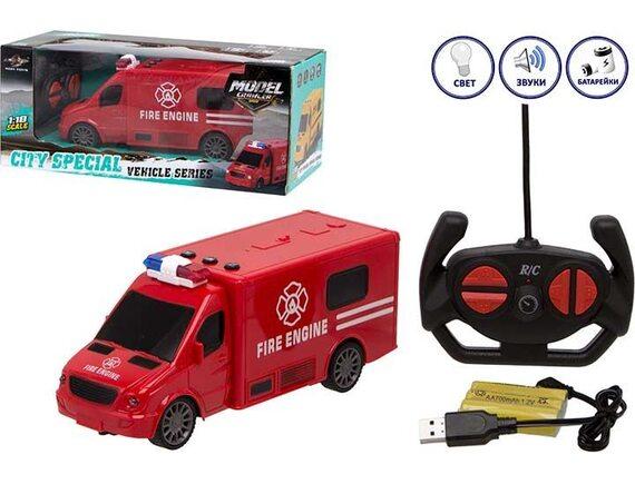 Пожарная машинка City Special на радиоуправлении 200680422