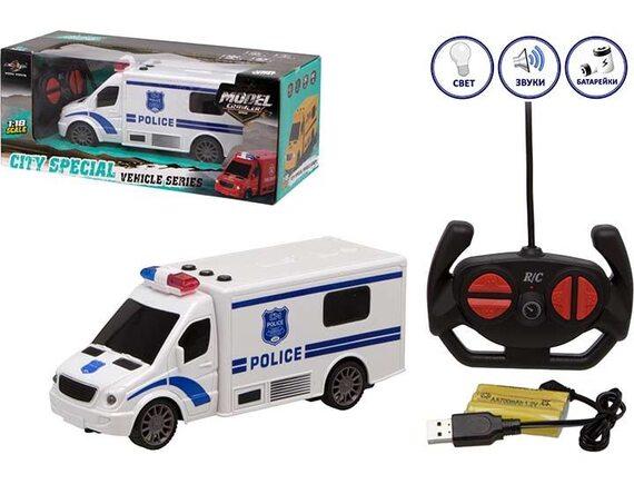 Машинка City Special Полиция на радиоуправлении 200680428