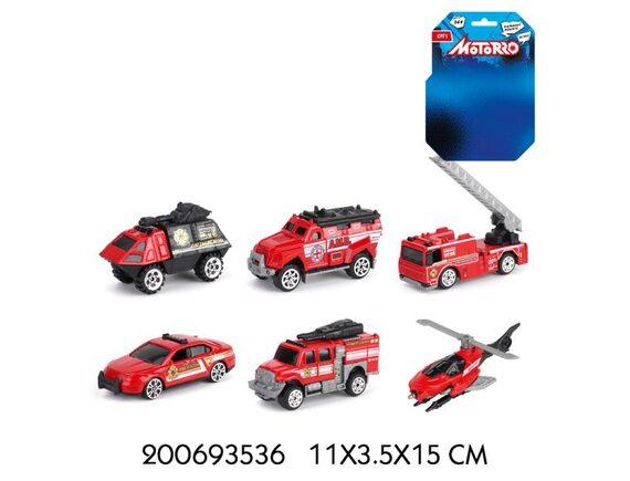 "Машинка металл Motorro ""Пожарная команда"" 200693536"