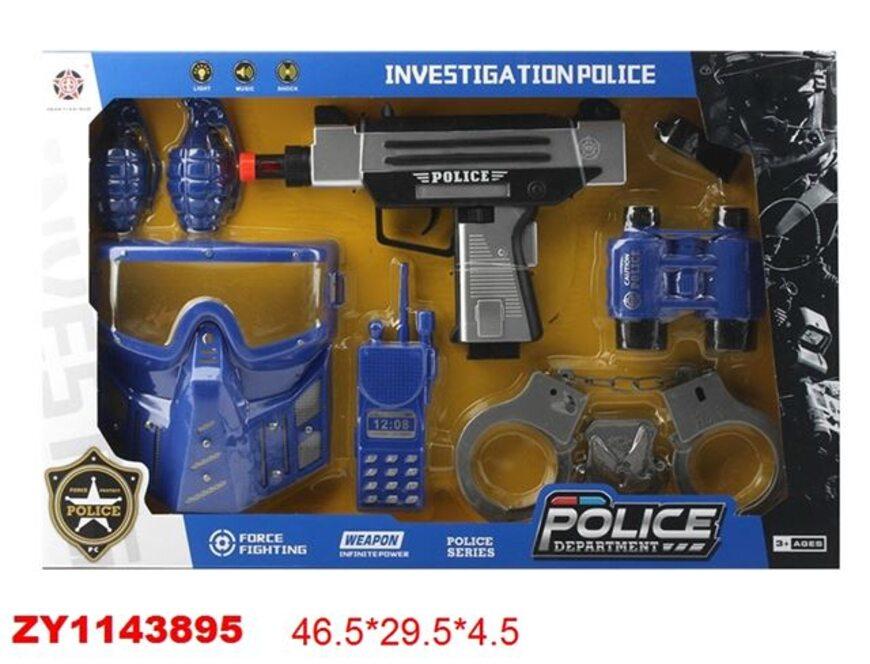 Игровой набор: Кейс полицейского (Simba, 8108525)