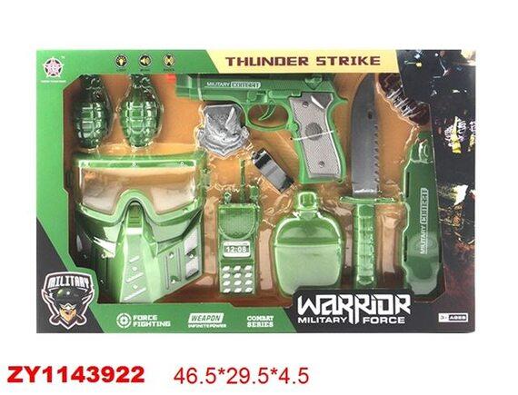 Игровой набор с оружием Военный 200693839