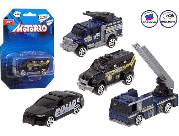 "Машинка металл Motorro ""Полиция"" 200695281"