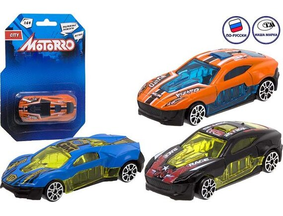 "Машинка металл Motorro ""Спорткар"" 200695344"