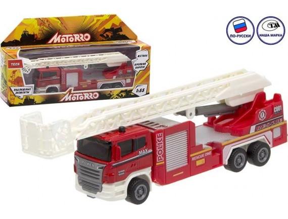 "Машинка металл Motorro ""Пожарная команда"" 200695779"