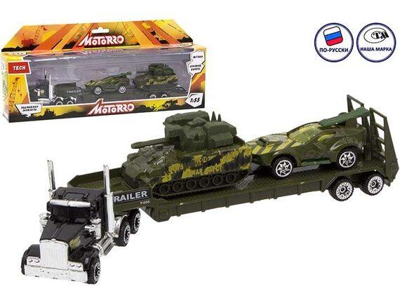 """Машинка металлическая Motorro """"Трейлер"""" 200696331"""