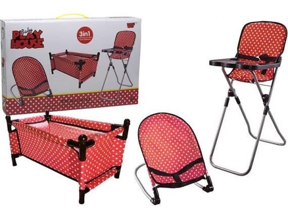 Игровой набор детской мебели 200704251 - приобрести в ИГРАЙ-ОПТ - магазин игрушек по оптовым ценам