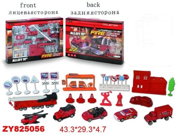 Набор металлических машин 200708503