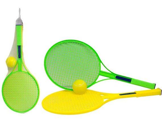 Ракетки для большого тенниса 49см с мячиком в сетке 200755728
