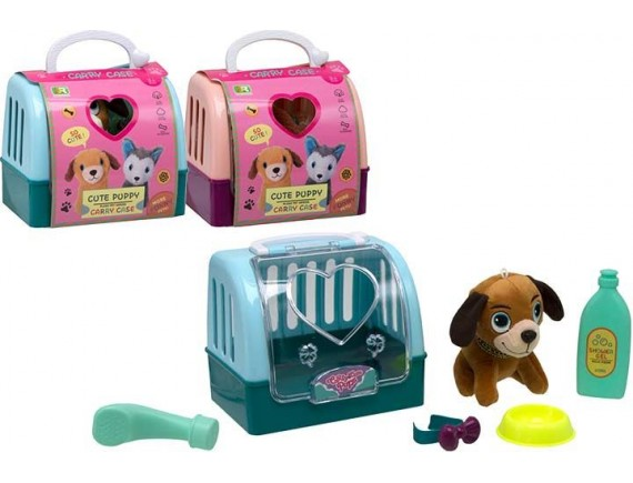 Игровой набор с собачкой Cute Puppy в переноске 200769113
