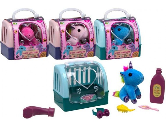 Игровой набор Единорог Cute Unicorn в переноске 200769159