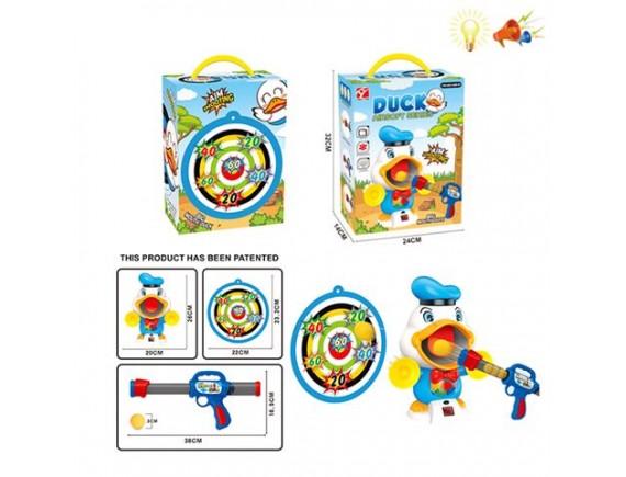 Набор помповое ружьё с мишенью и шариками 200775440 - приобрести в ИГРАЙ-ОПТ - магазин игрушек по оптовым ценам