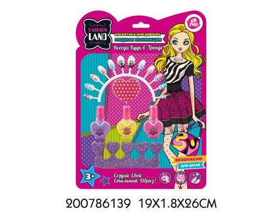 Набор детской декоративной косметики TM LAPULLI KIDS 200786139