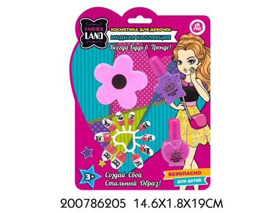 Набор детской декоративной косметики TM LAPULLI KIDS 200786205