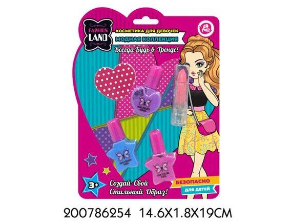 Набор детской декоративной косметики TM LAPULLI KIDS 200786254