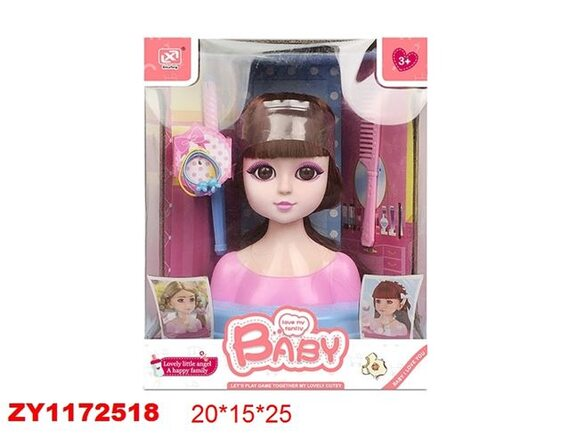 Игровой набор Стилист 200796108 - приобрести в ИГРАЙ-ОПТ - магазин игрушек по оптовым ценам